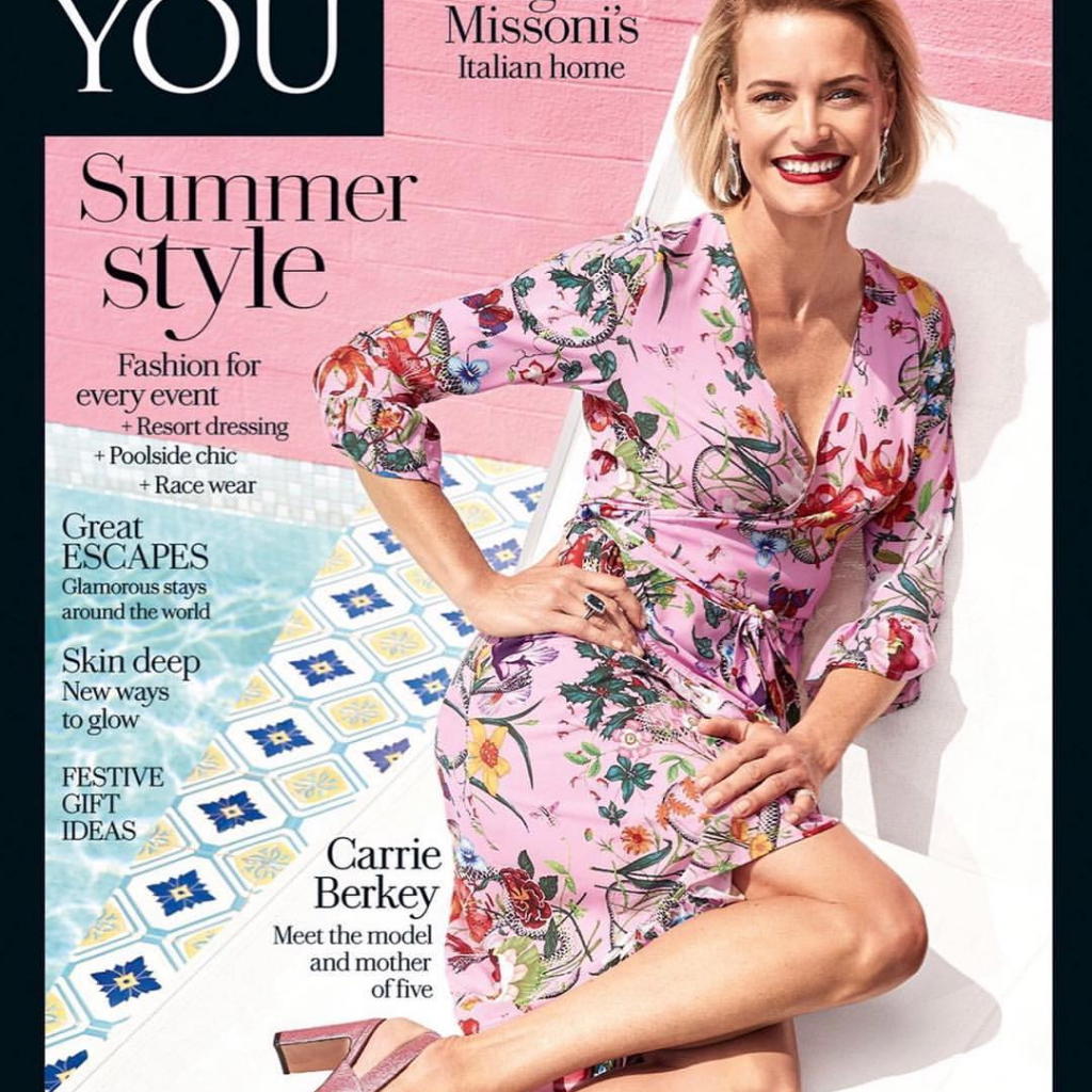 Carrie photographed by Mike Rooke for Simply You Magazine: Styling Louise Hilsz , Makeup: Chay Roberts
