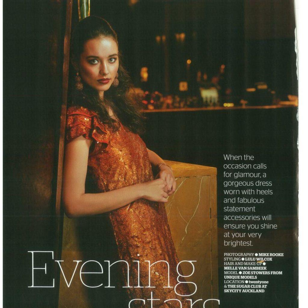 Zoe photographed by Michael J. Rooke for AWW Magazine Mua: Melle Van Sambeek; Styling: Lulu Wilcox