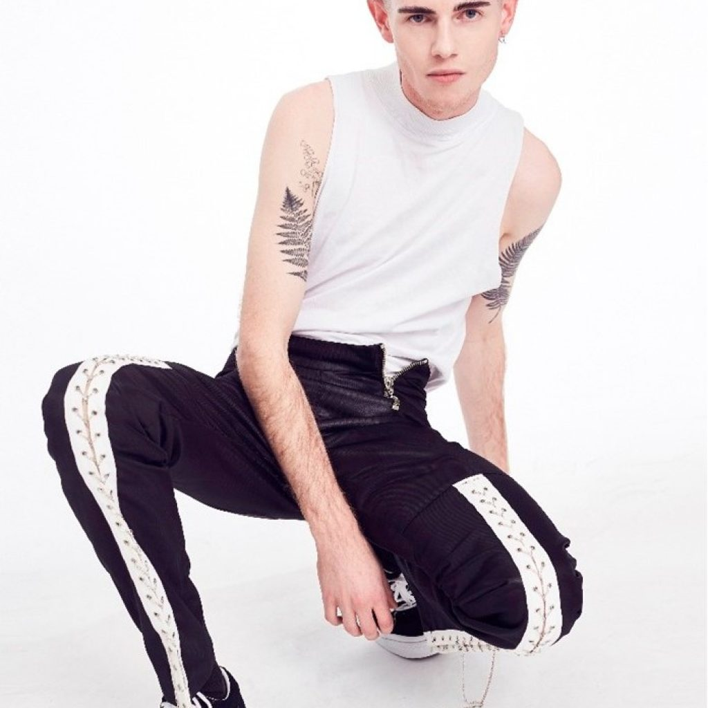 Lochie Stonehouse photographed for Blacklist by Stephen Tilley in Converse