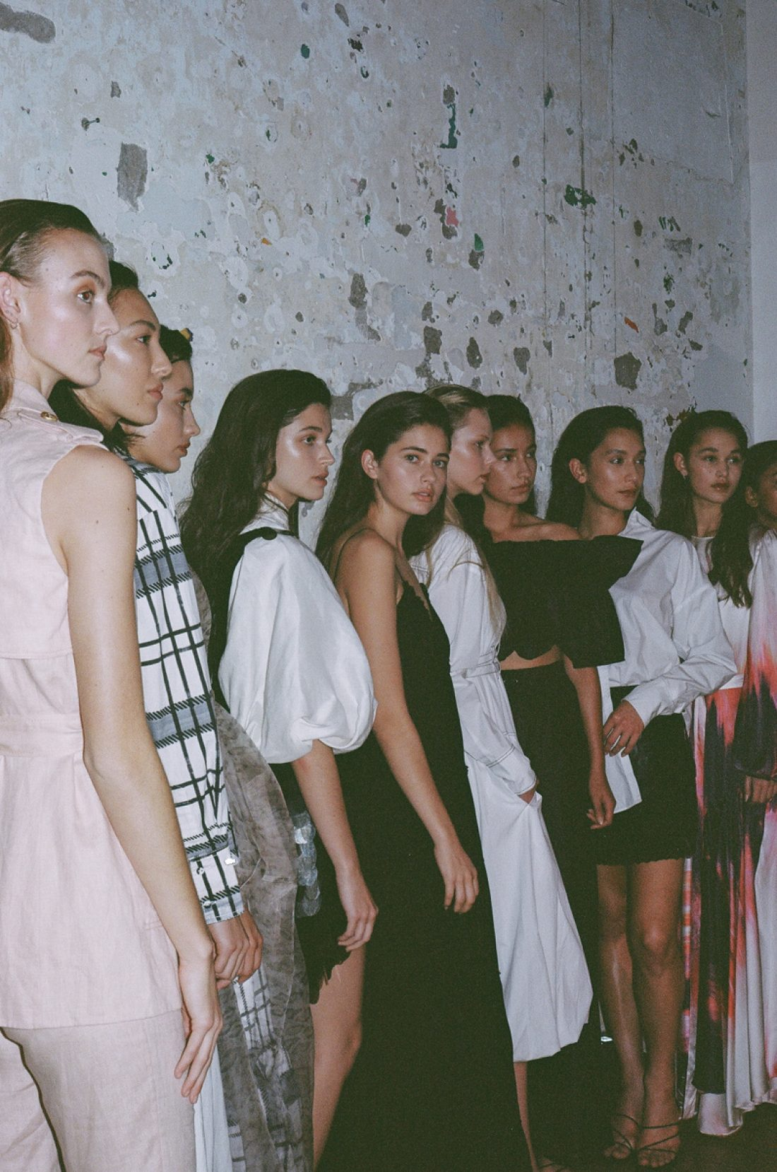 Aje Auckland Show/ Models: Brooklyn, Bernie, Rose, Zoe , Alaina, Francesca, Ruby, Erin, Katie photography by Adam Bryce