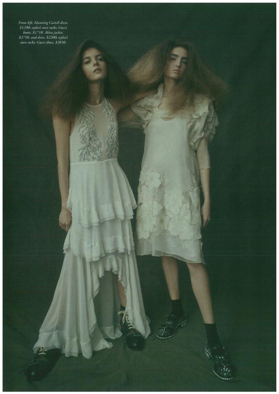 Olivia photographed by Georges Antoni for #BAZAAR Australia 'Dec'17; Hair Daren Borthwick; Makeup @pinkiiieee style by Naomi Smith