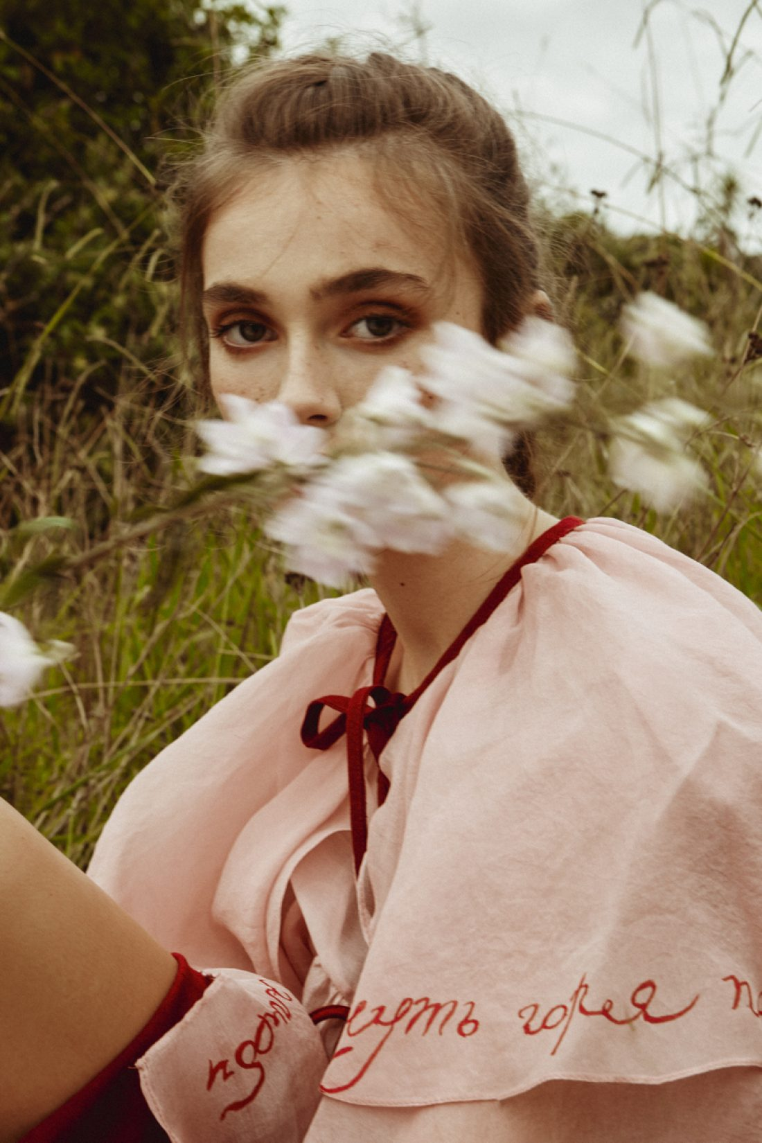 Sofia photographed by Clara Pafundi for Saba Salon Campaign: Makeup: Jemima Kean;Hair: Jessica Taylor