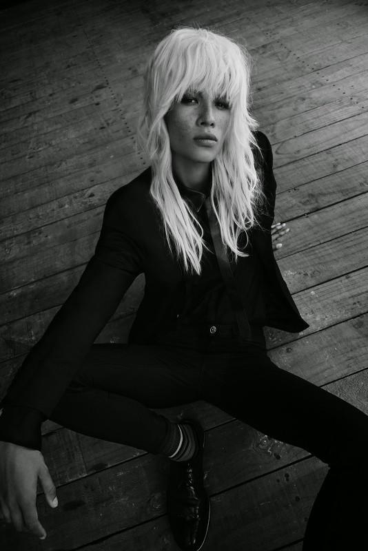 Dani for D&M Hair Design, shot by Mara Sommer