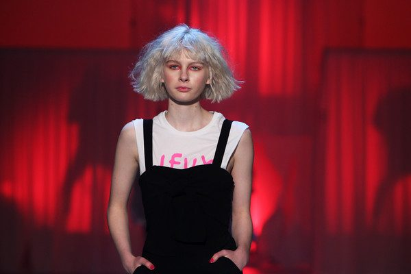 Teagan, Rose, Connor, Zoe Stowers, Laura , Bernie for Federation's NZFW Show