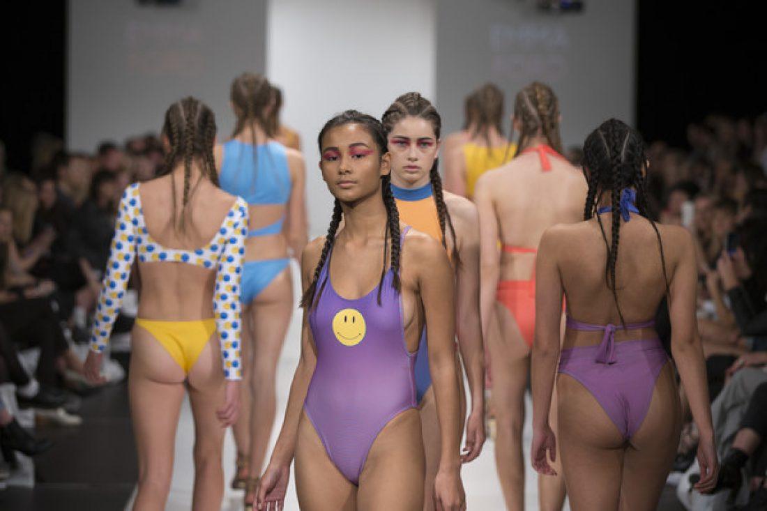 Selena, Ruby, Julia, Ruby & Poppy for the Swim Show @ NZFW