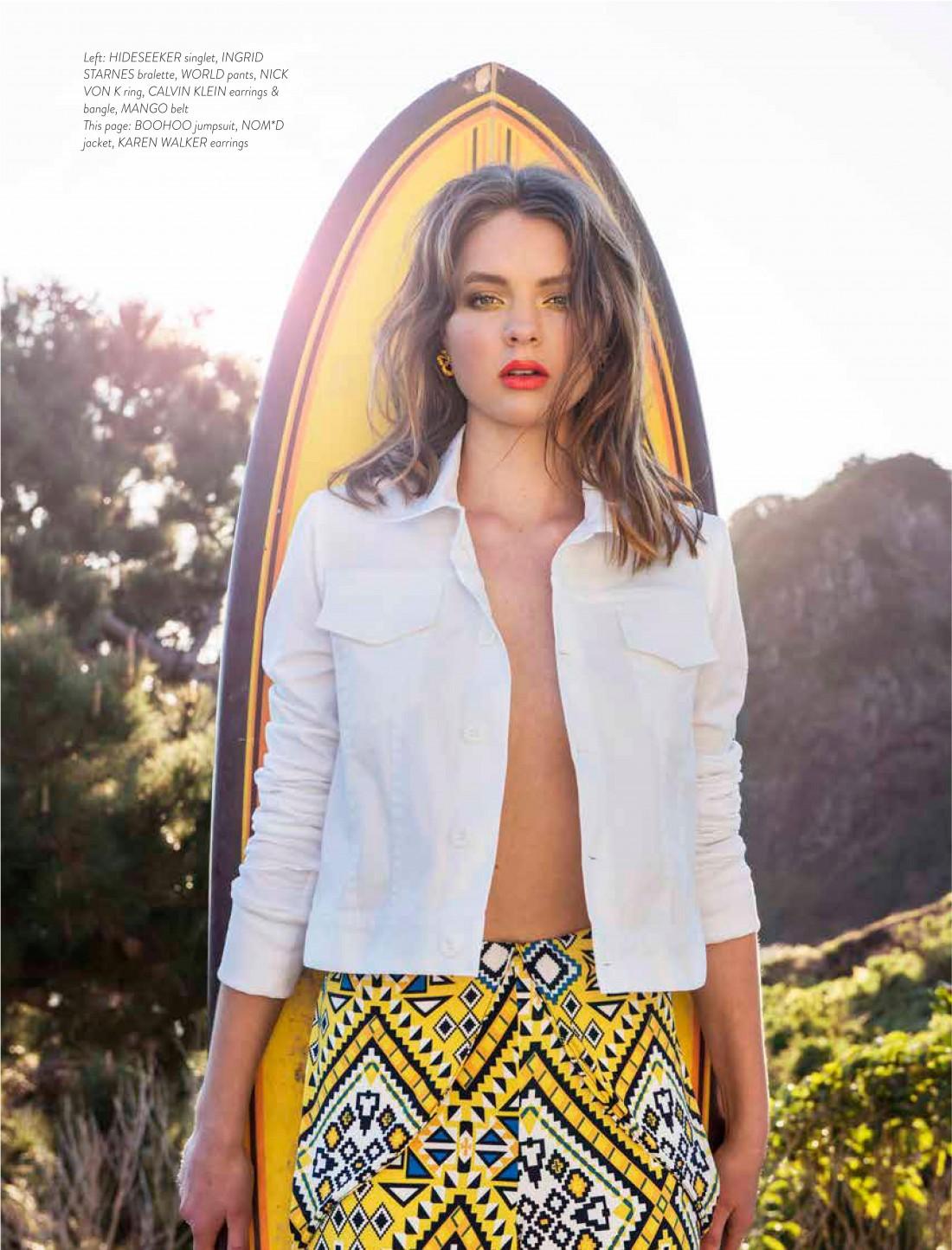 Eliza for Remix Magazine shot by Calypso Paoli