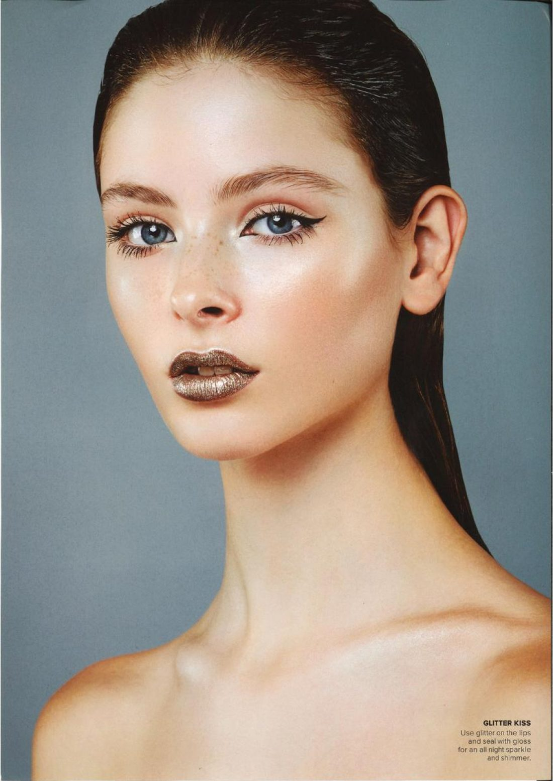 Francesca photographed by Fiona Quinn for M2 Magazine ; Mua Amber Carroll using MAC