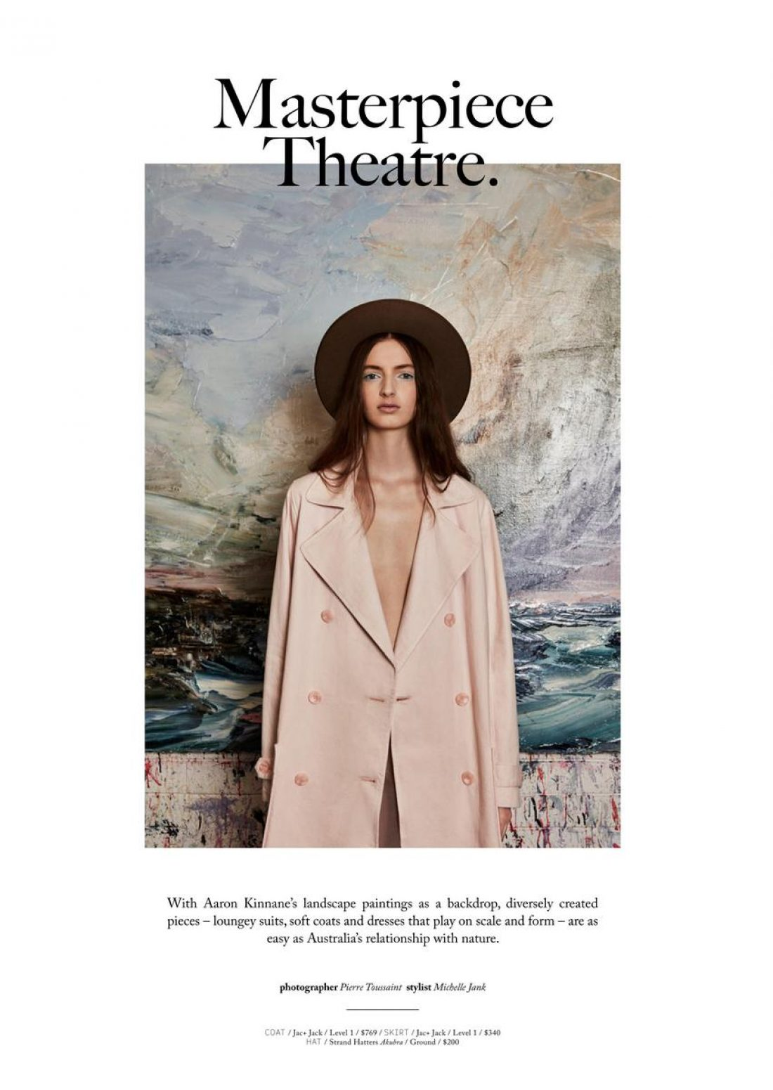 Maisie photographed By Pierre Touissant for the Strand Magazine, styling Michelle Jank