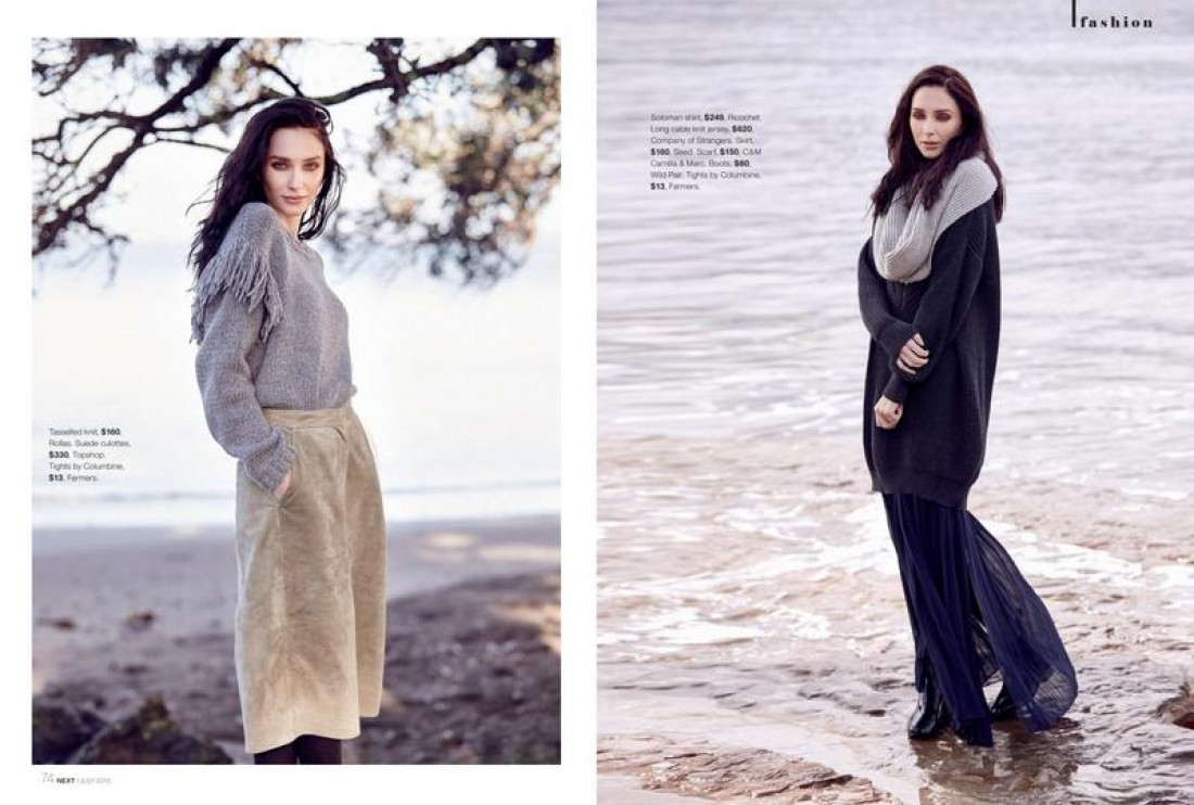 Chanel shot by Yianni Aspradakis for NEXT Magazine, styling Sonia Greenslade