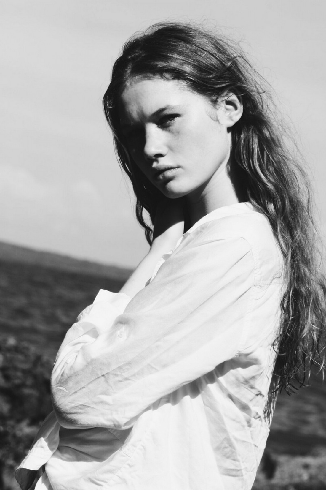 Milly photographed by Sophia Doak for Sonderingg.com