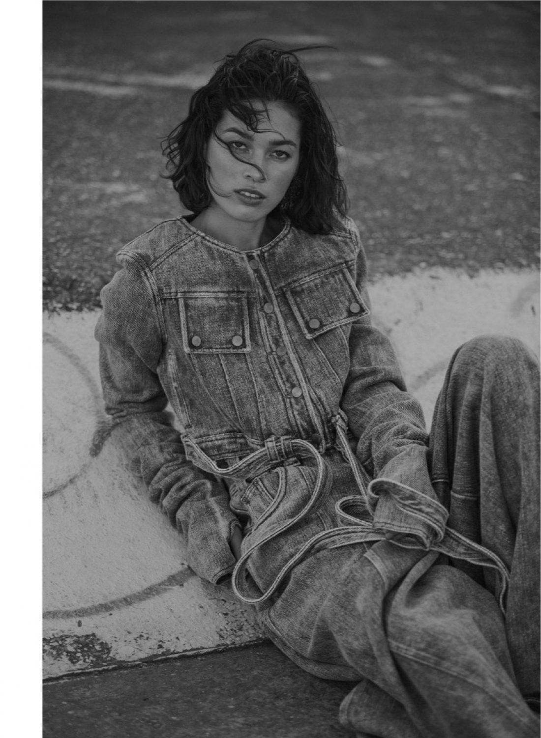 Sian photographed by Natasha Killeen for Page One Magazine