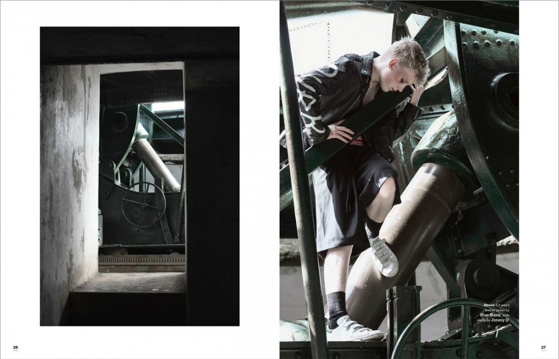 Ed photographed by Thian Benton-Fieulaine for Shout Out Magazine H/Mua: mandy kaur, Assist: Amina McCabe