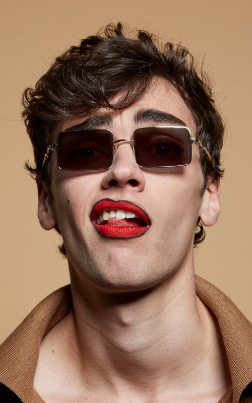 Xander photographed by Karen Inderbizen – Waller & Delphine Planqueel for Karen Walker Eyewear