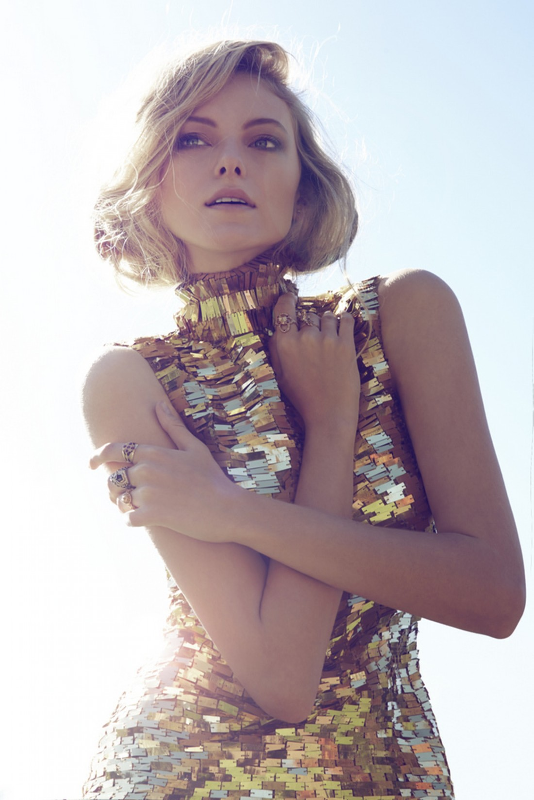 Zoe shot by Julie Huang, styling by Juvena Worsfold