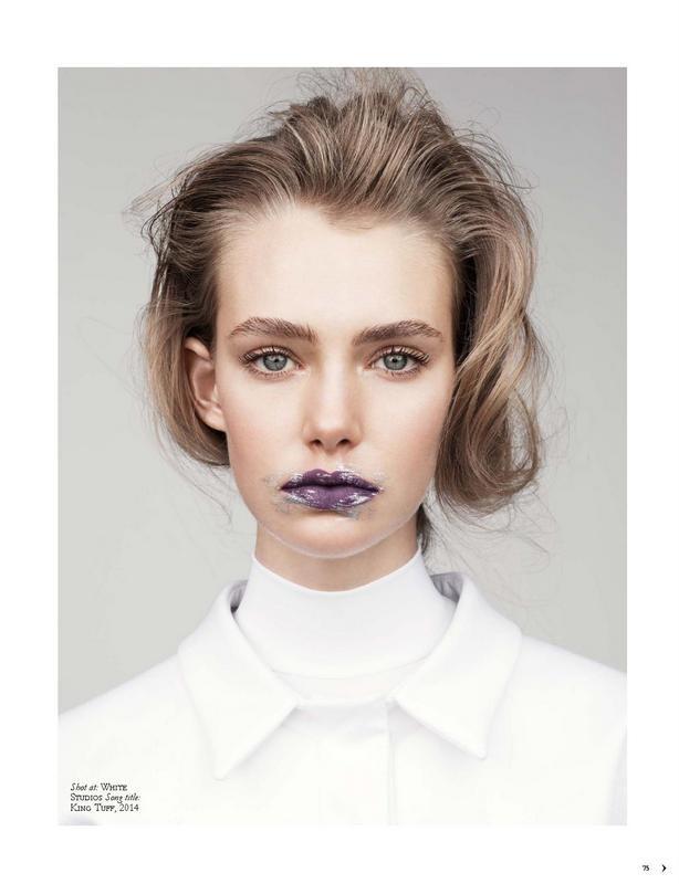 Marnie for BLACK Magazine shot by Charles Howells, styling Rachel Churchwood