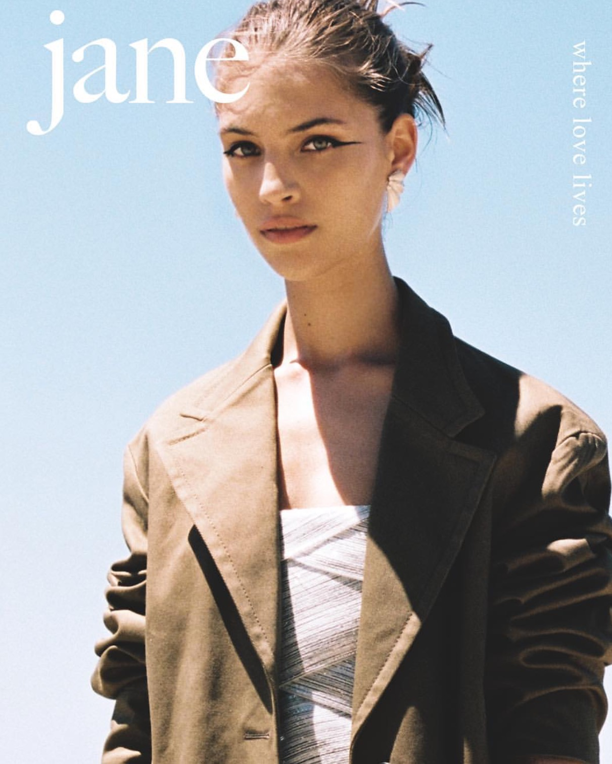 Bernie photographed by Odin Wilde for the Cover of Jane magazine