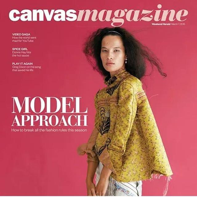 Dani for Canvas Magazine, shot by Dan Ahwa