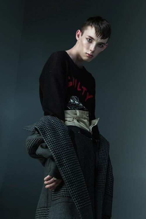 Marshal for Sicky Magazine, shot by Ken Xun Cao, styling by Dylan James Richards and Sebastian Mcgirr-Hunt