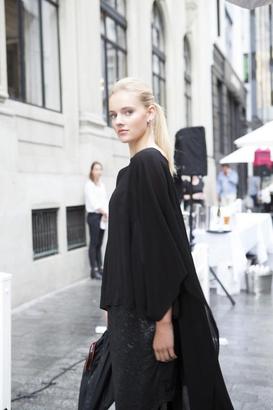 Unique Models for Hudson Fashion Show