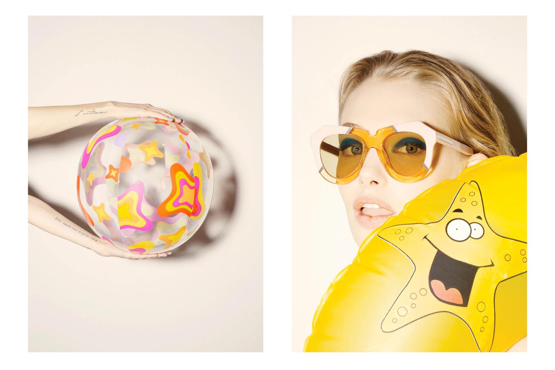 Marnie for Karen Walker Eyewear shot by James K Lowe