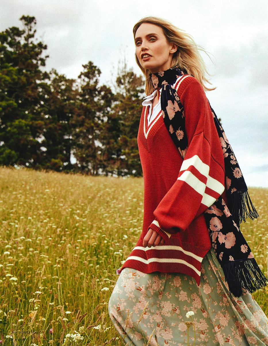 Penny photographed by  Michael J. Rooke for Simply You Magazine, styling by Danielle Clausen