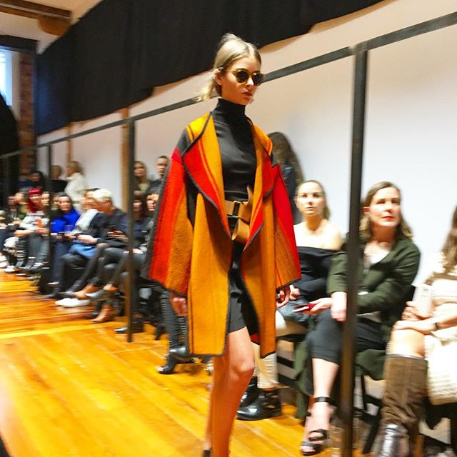 Pepa, Hope, Francesca, Maisie for the Turet Kneufermann Show at NZFW