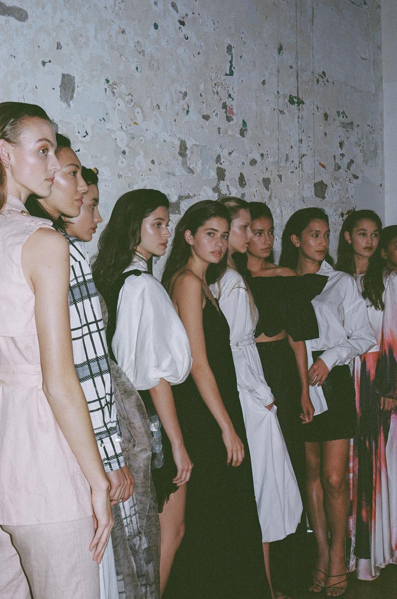 Aje Auckland Show/ Models: Brooklyn, Bernie, Rose, Zoe , Alaina, Francesca, Ruby, Erin, Katie photography by Adam Bryce