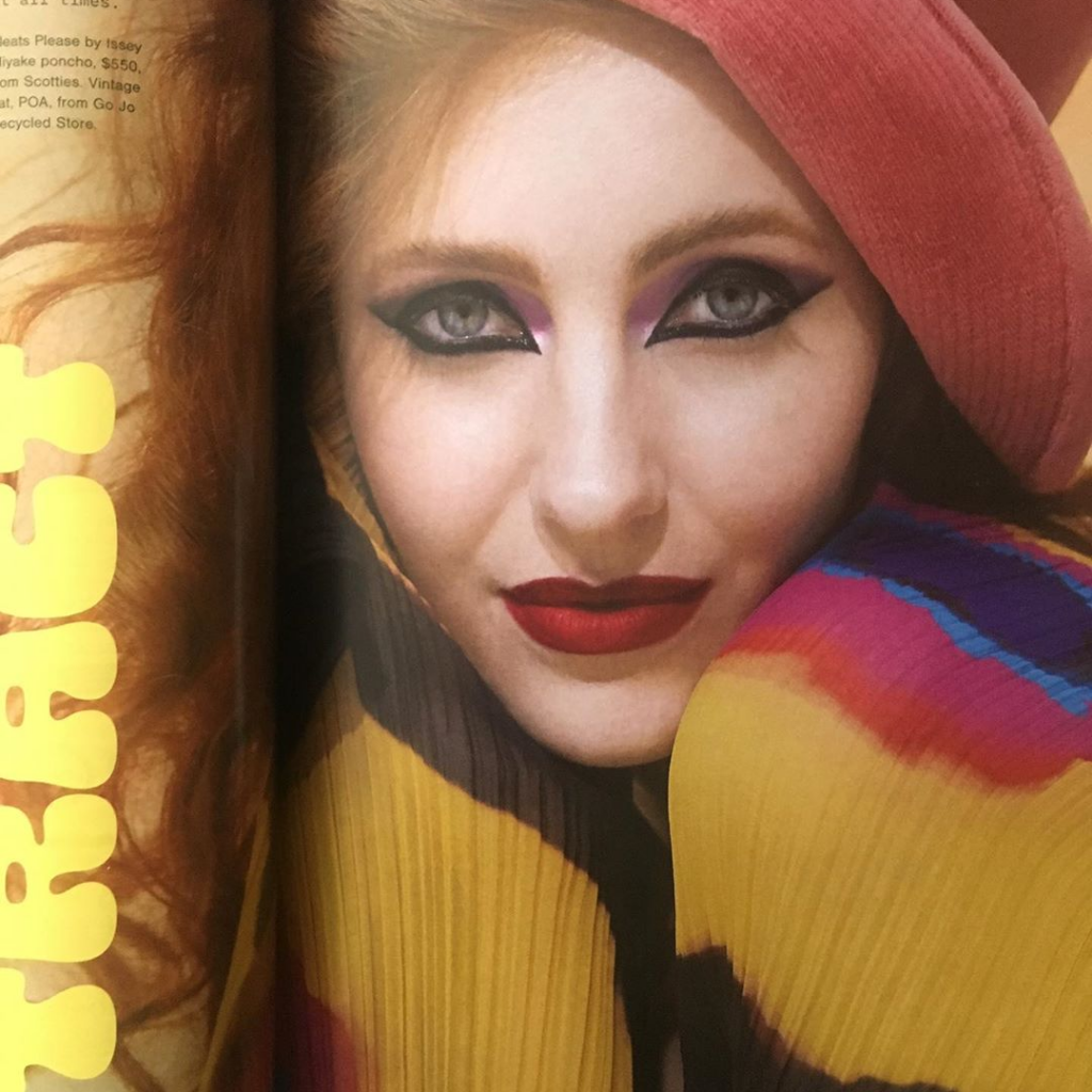 Lily for Viva Magazine   Photographers: Karen Inderbitzen-Waller & Delphine Avril Planqueel   Fashion Director: Dan Ahwa   Make-up: Kiekie Stanners   Hair: Sophy Phillips   Assistant: Phoebe Stanford
