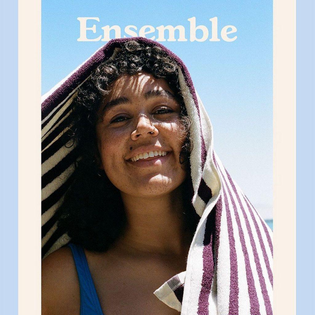 Kama for Ensemble Magazine | Photography & Styling: Olivia Renouf | Wearing: Tekla Fabrics from Simon James Store & Ruby Boutique