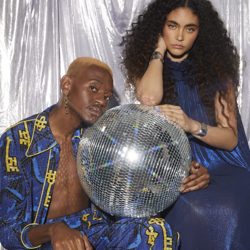 Azini & Michel for Remix Magazine   Photography: Apela Bell   Creative Direction & Styling: Amber Baker   Hair: Michael Beel   Makeup: Laura Anne Tucker   Nails: Brooke Hunter   Production Assistants: Orion Scott & Madison White   Special thanks to KINGSIZE STUDIOS
