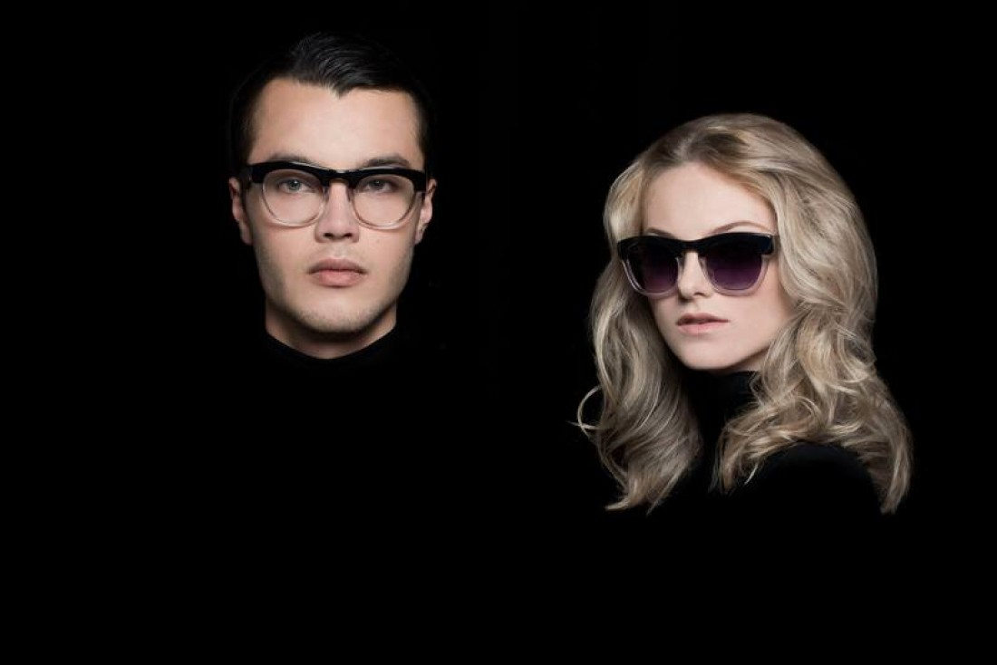 Terumi & Zoe for Age Eyewear shot by Calypso Paoli