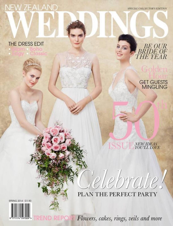 Phoebe for NZ Weddings Magazine shot by Carolyn Haslett
