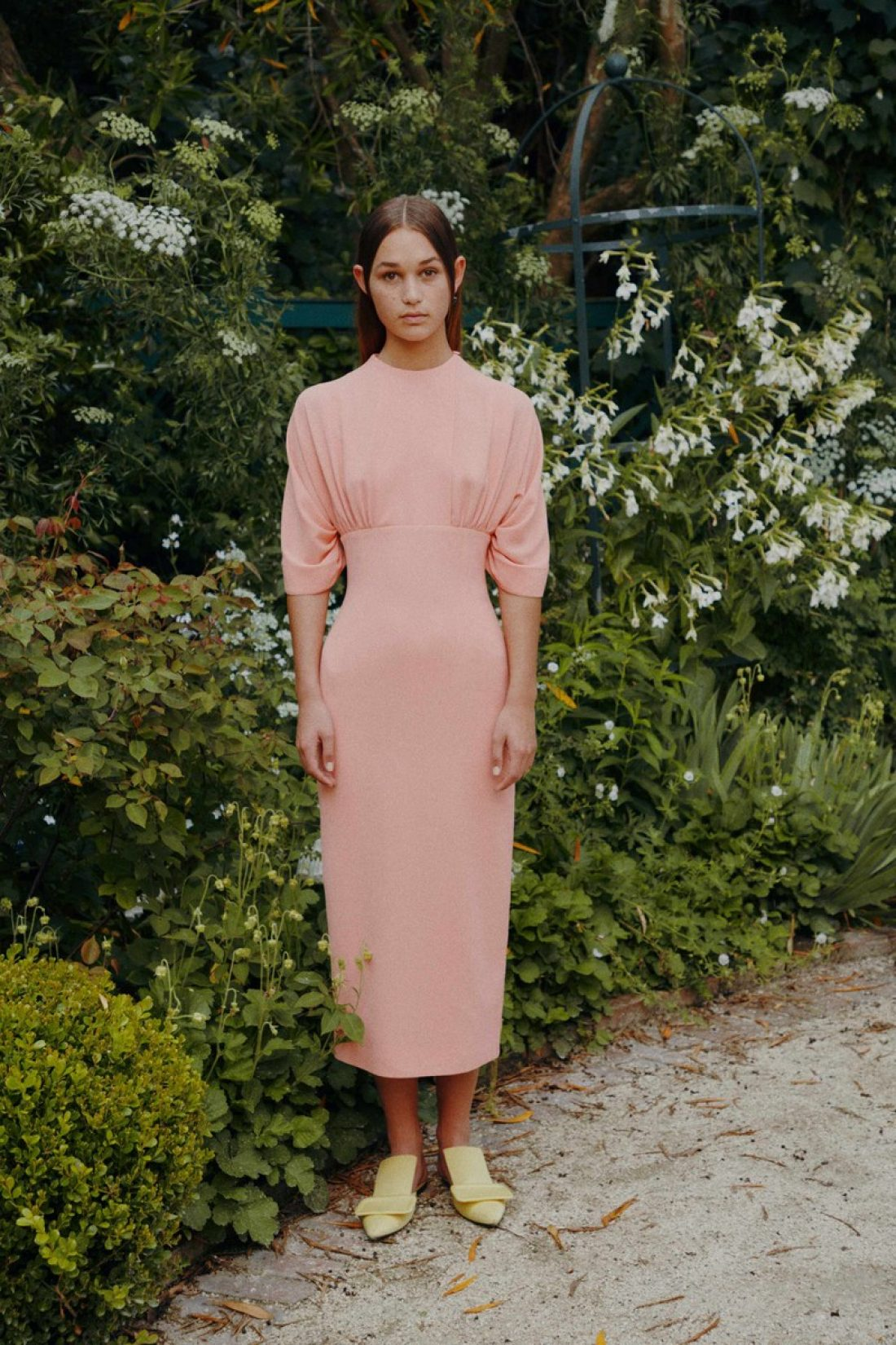 Rose photographed by James Tolic for Emilia Wickstead Resort 19