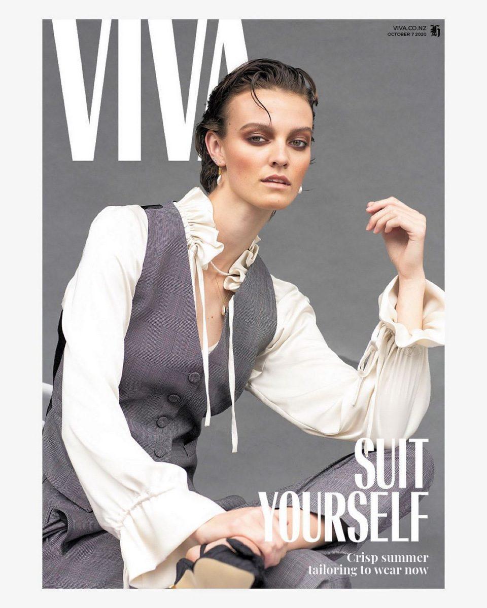 Brooklyn for VIVA Magazine | Photography: Babiche Martens | Fashion Director: Dan Ahwa | Makeup: Shirley Simpson | Costume Designer: Liz Mitchell