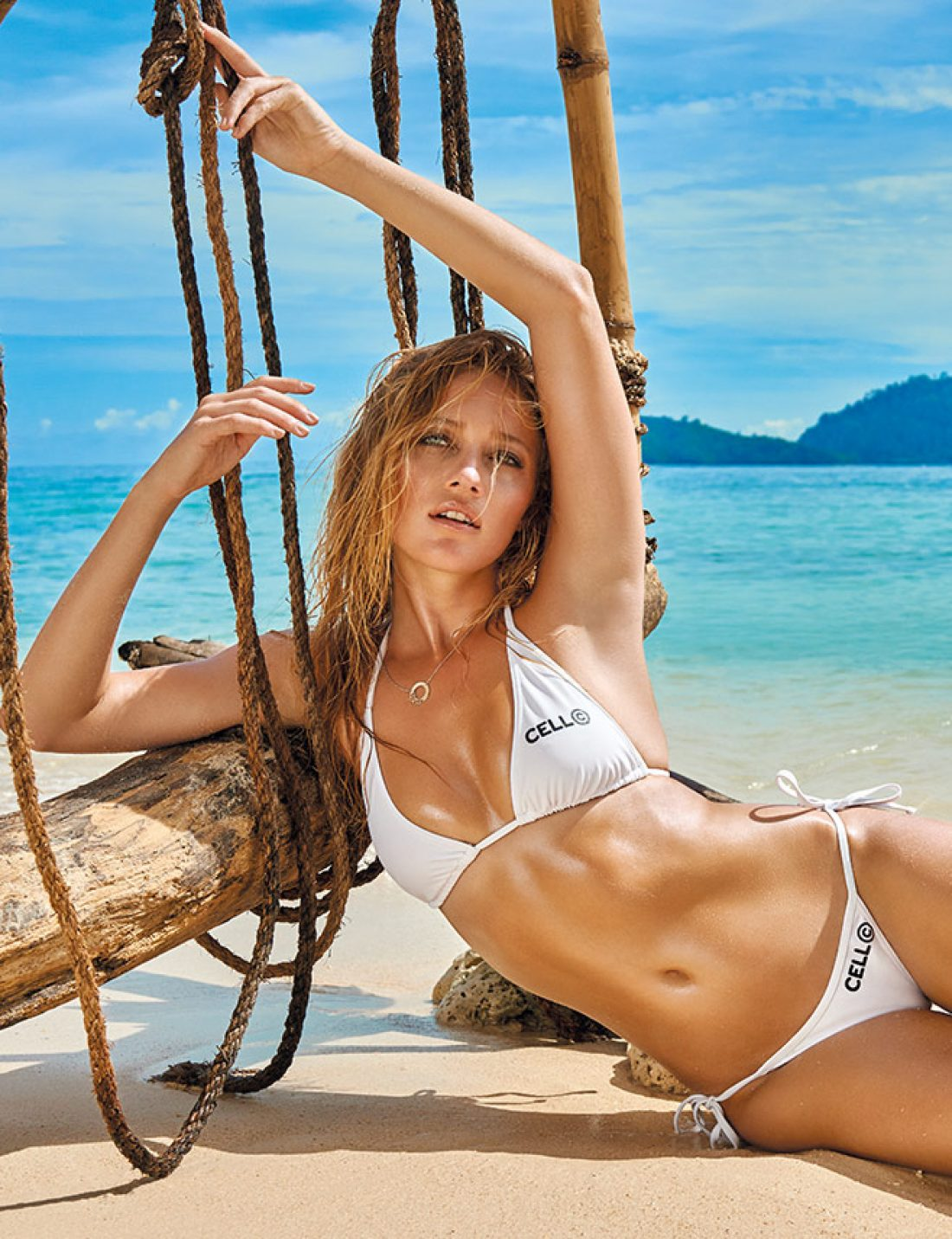 Zippora photographed by Gavin Bond for World Swimsuit