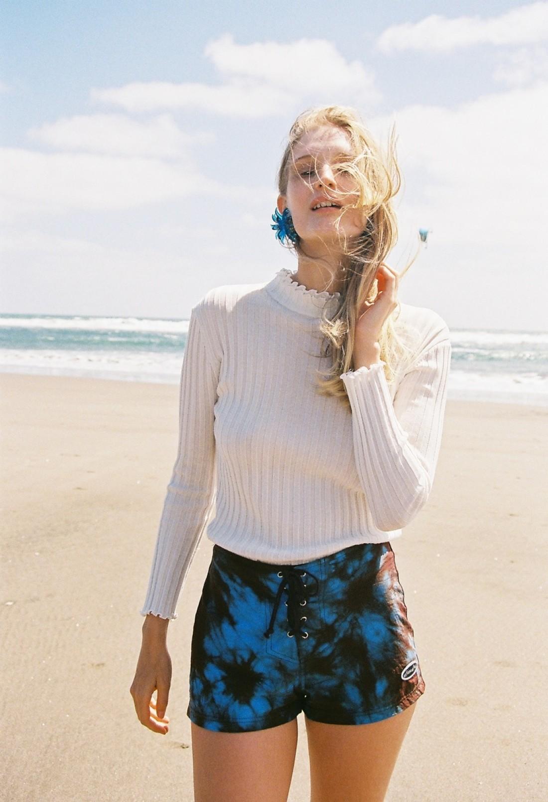 Jade photographed by Zara Mirkin for Nylon Magazine; styling by Paris Mitchell