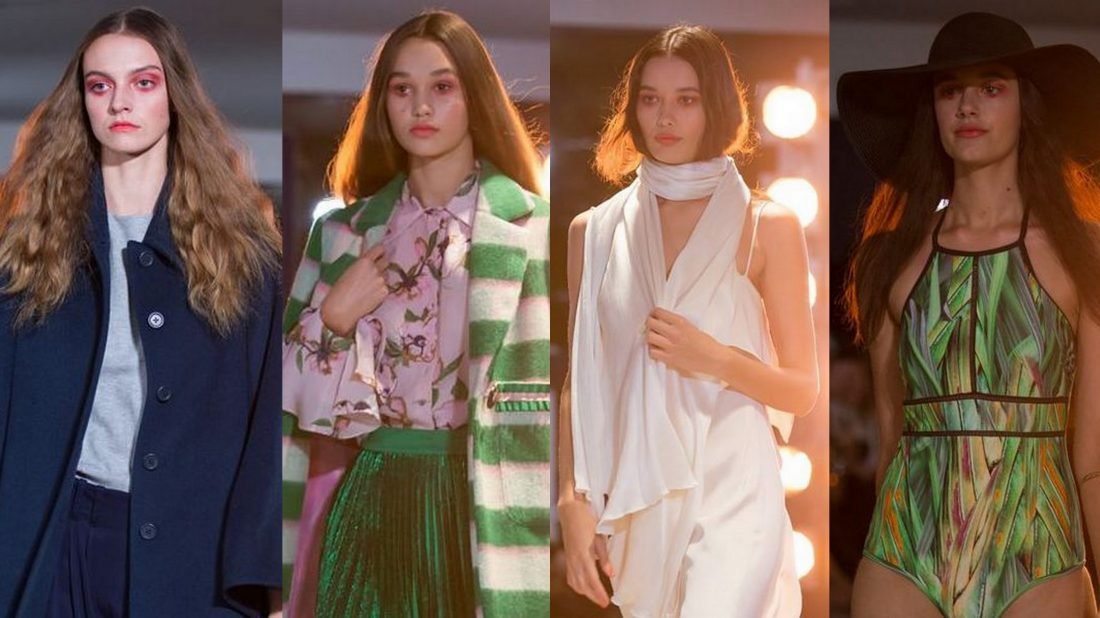 Brooklyn, Rose, Zoe S & Lauren walk in the #Fashion for a Cure show Designers: Zambesi, Hailwood, Turet Knuefermann, Trelise Cooper, Coop, Ruby, Moochi, Andrea Moore, Yvonne Benetti, Moontide, Liam, Storm