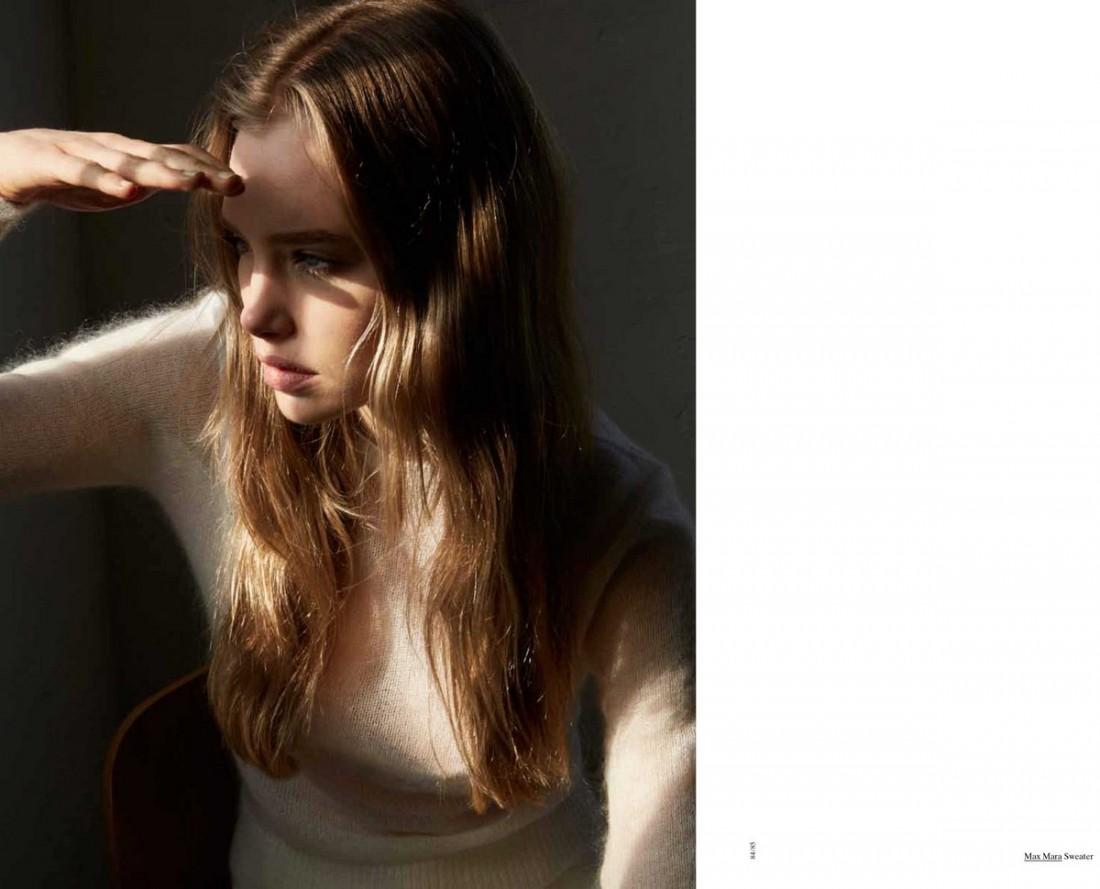 Marnie photographed by Bec Parsons for LOVEWANT Magazine : fashion by Kim Payne:Mua Linda Jeffery : Hair Travis Balcke