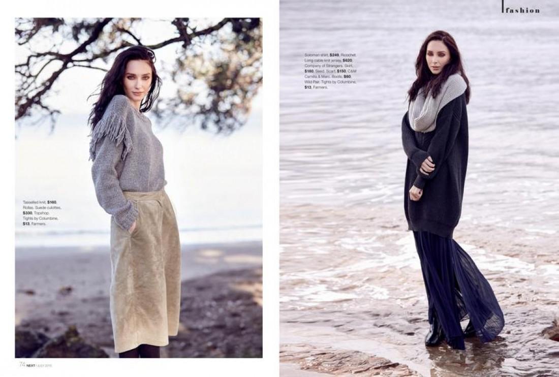 Chanel shot by Yianni Aspradakis for NEXT Magazine, styling Sonia Greenslade