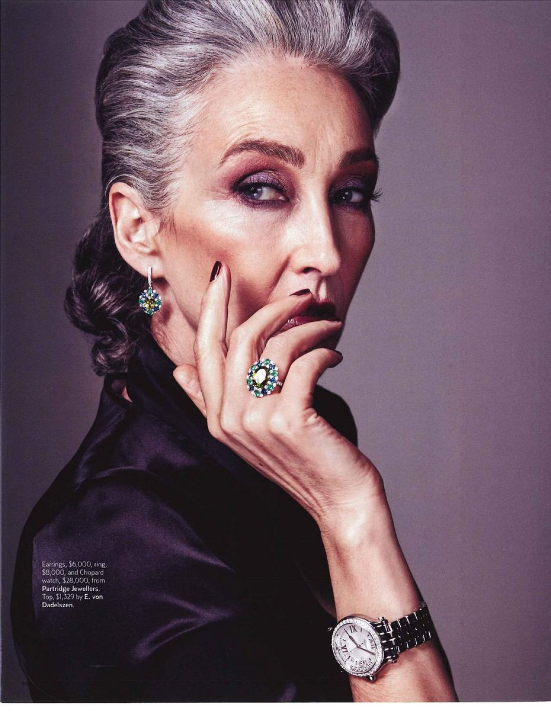 Mercy photographed by Michael J Rooke for Simply You Magazine; Stylist; Louise Hilzs; Mua Chay Roberts using Tom Ford