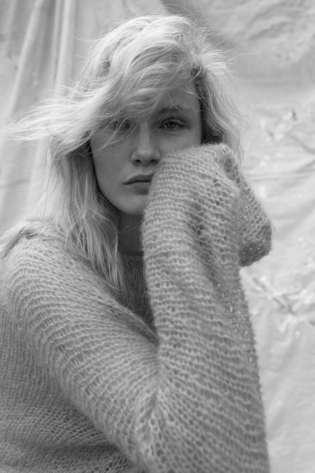 Polly photographed by Claire Hart for Intent Journal