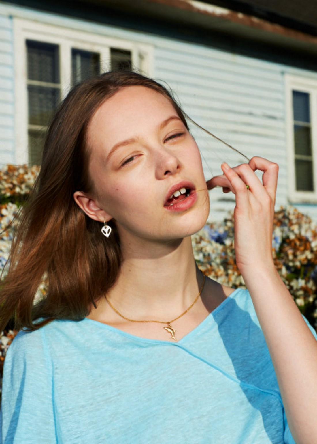 Lily for ID Magazine, shot by Sam Nixon, styling by Imogen Wilson