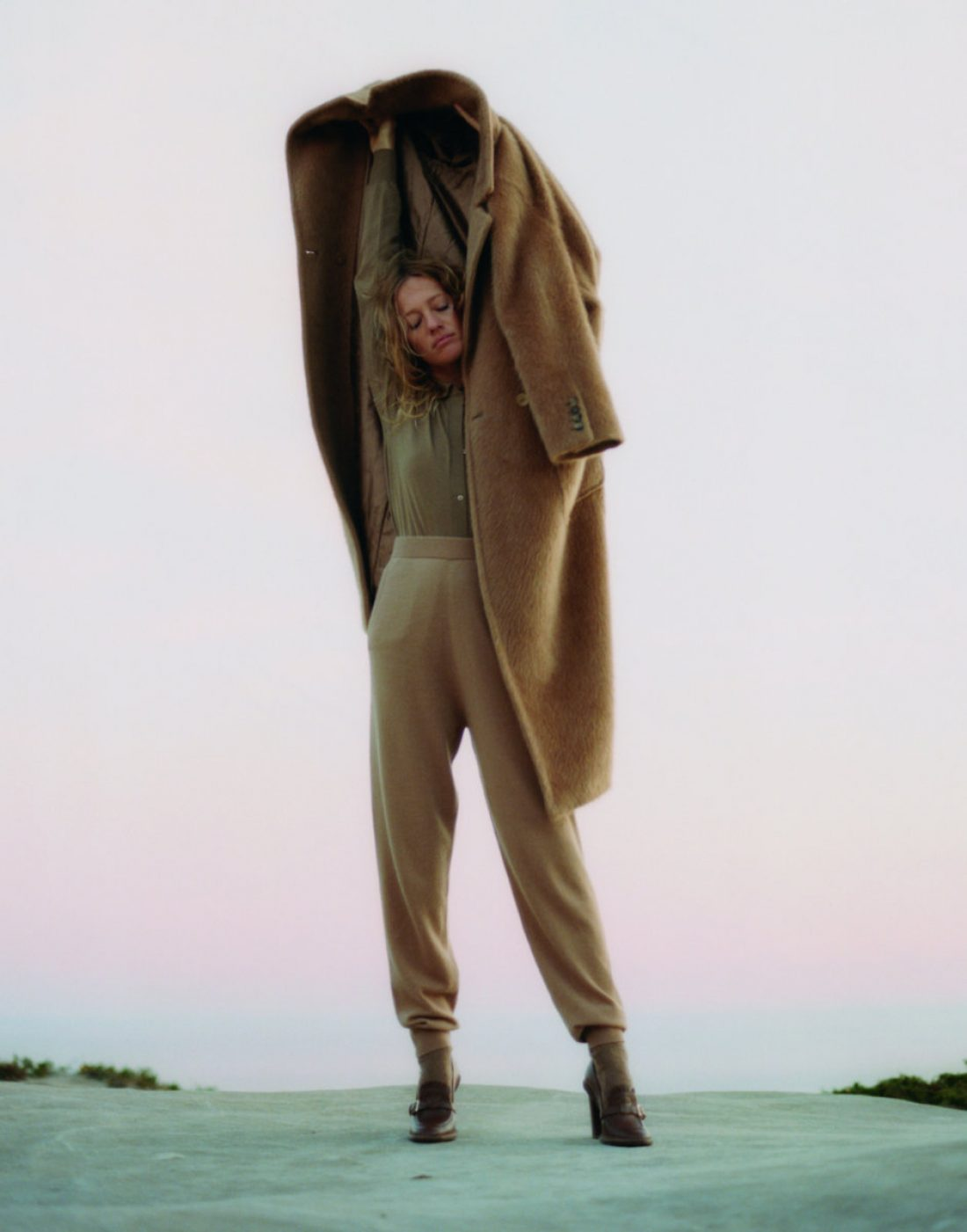Zippora Seven photographed for Elle USA; Ph: Terence Connors; Fashion Marine Braunschvig; Cedric Michel; Tobias Sagneur