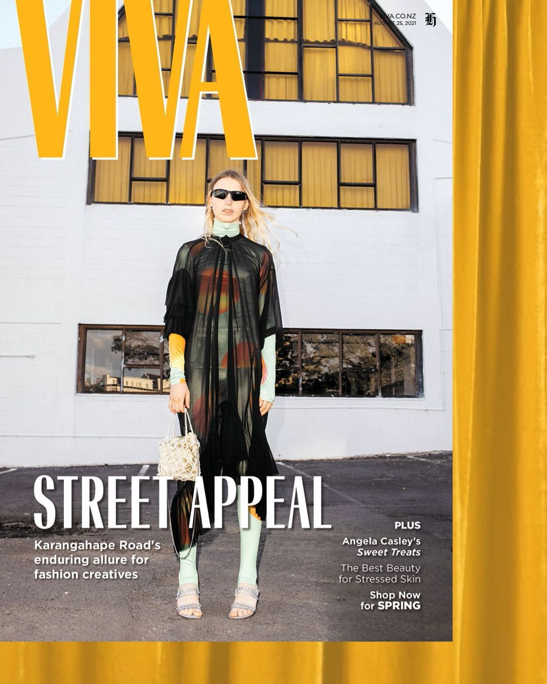 Milo covers Viva Magazine: photographed by David James in Jimmy D