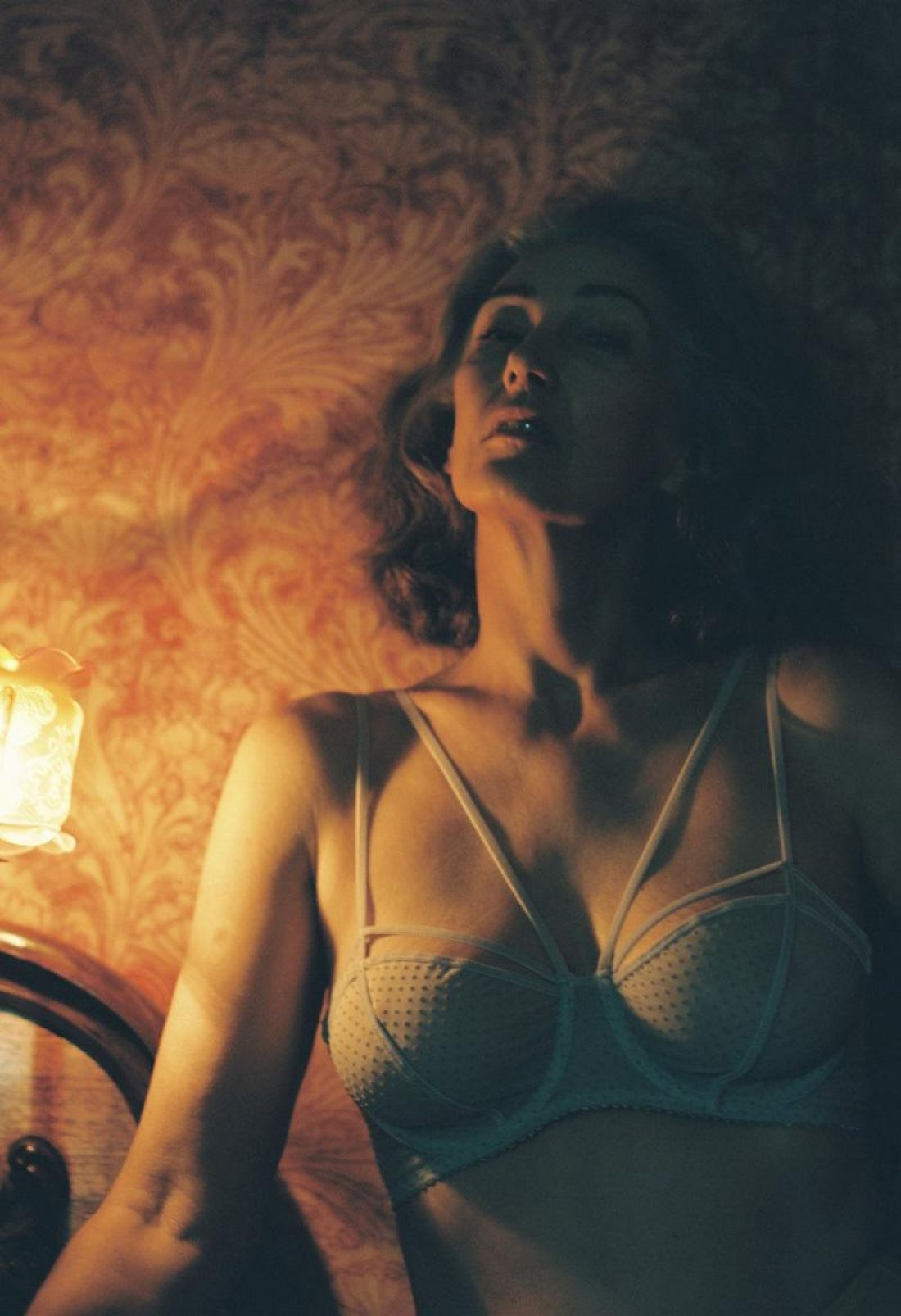 Mercy photographed by Harry Were for Lonely Lingerie SS17 Campaign