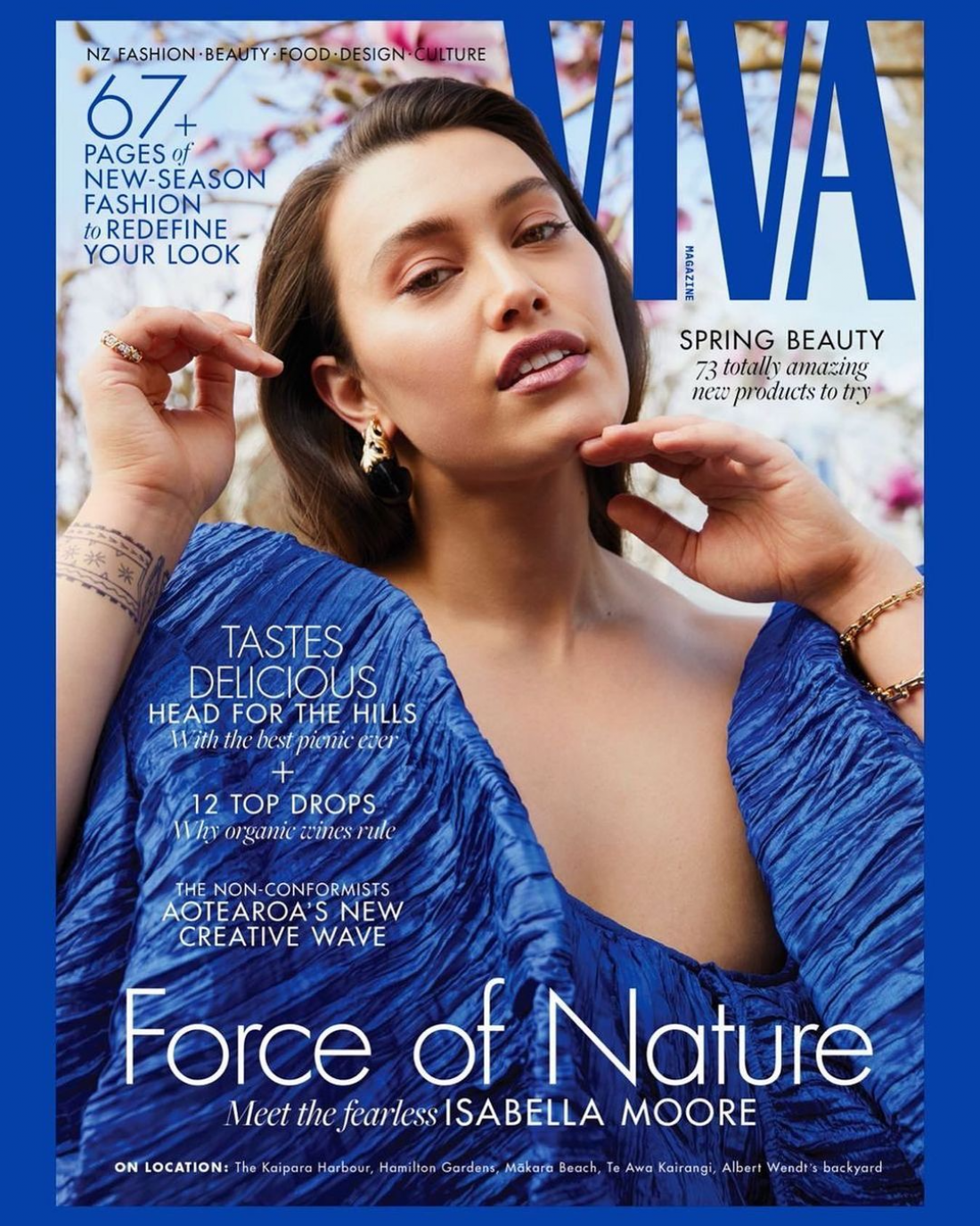 #Force of Nature #ISABELLA covers Viva Glossy Spring Issue  Photographed by Mara Sommer wearing a design by  Havilah Arendse @havilah.label Fashion & Concept by Dan Ahwa Hair by @seanpatrickmahoney & make up by @geegee_makeupartist  writing @amanda_linnell , Viva Editor.